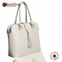 GEANTA BS 29 Beige Shoulder Bag