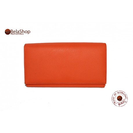 Portofel J016 Orange N
