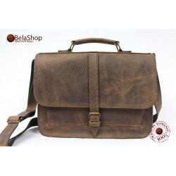 Geanta Postman Brown Vintage BU