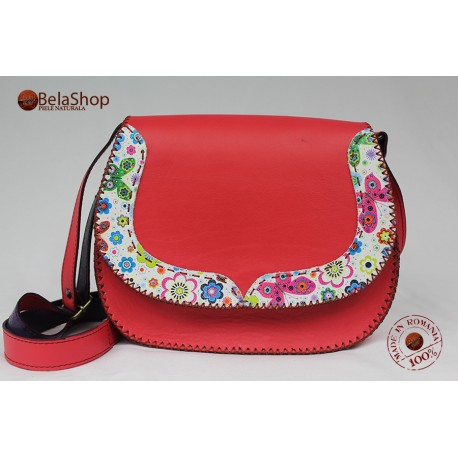 Geanta Felicia Red Mat&Flowers