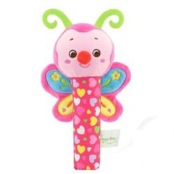 Jucărie de pluș cu sunete Fluturașul Pinkie
