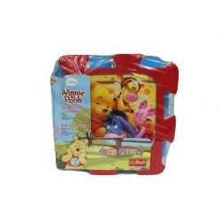 Covoras puzzle din spuma 8 buc Winnie the Pooh
