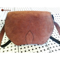 GEANTA OWL BROWN FIN