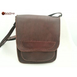 GEANTA TOM 3 RED BROWN