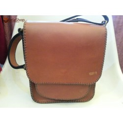 GEANTA TOM 3 LIGHT BROWN