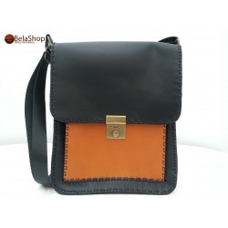 GEANTA BUSINESS BLACK&ORANGE CHEY
