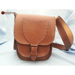BORSETA BROWN CAMEL L