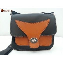 GEANTA TANIA BLACK&BROWN
