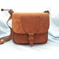 GEANTA SOFIA BROWN FIN H