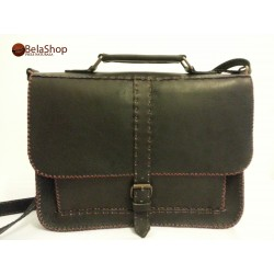GEANTA POSTMAN DARK BROWN C
