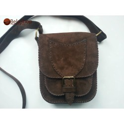 BORSETA DARK BROWN FINN