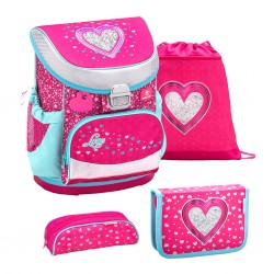 Set Ghiozdan, Penare, Sac sport Mini-Fit Heart