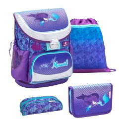 Set Ghiozdan, Penare, Sac sport Mini-Fit Mermaid