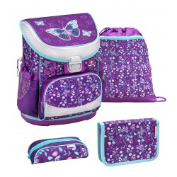 Set Ghiozdan, Penare, Sac sport Mini-Fit Amazing Butterfly