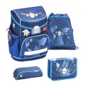 Set Ghiozdan, Penare, Sac sport Mini-Fit Airplane