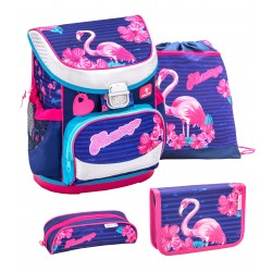 Set Ghiozdan, Penare, Sac sport Mini-Fit Flamingo