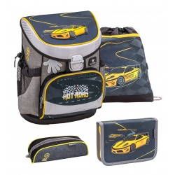 Set Ghiozdan, Penare, Sac sport Mini-Fit Hot Road