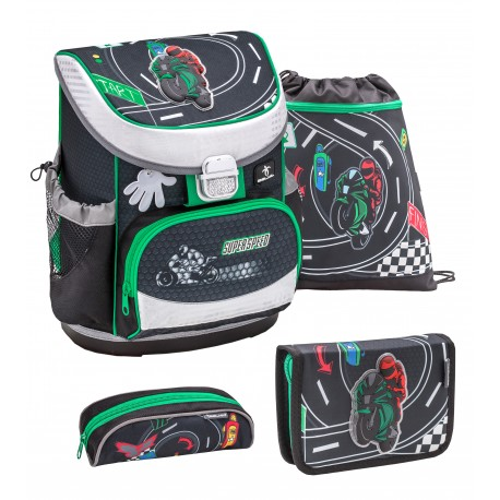 Set Ghiozdan, Penare, Sac sport Mini-Fit Super Speed