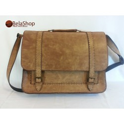 GEANTA POSTMAN BIG BROWN VINTAGE