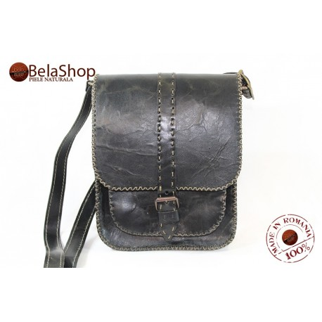 BORSETA HIGHT DARK BROWN VINTAGE