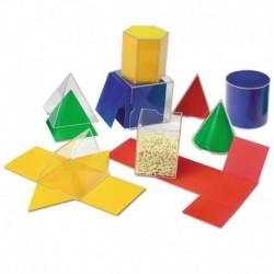 Forme geometrice pliante - 16 piese