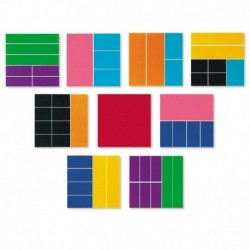 Geometria fractiilor - Patrate