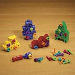 Figurine cu suruburi - Extensie joc Bormasina Magica