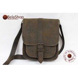 BORSETA HIGHT BROWN VINTAGE N