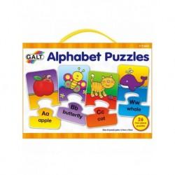 Set 26 de puzzle-uri Alphabet (2 piese)