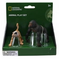 Set 2 figurine - Gorila si Maimuta