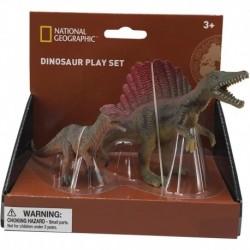Set 2 figurine - Spinosaurus si Dilophosaurus