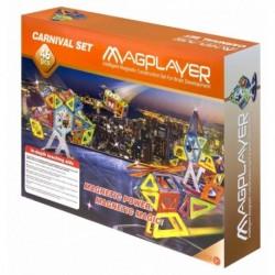 Joc de constructie magnetic - 46 piese