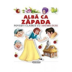 Alba ca Zapada - Povesti clasice cu abtibilduri