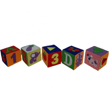 Set cuburi educationale din fetru lucrat manual
