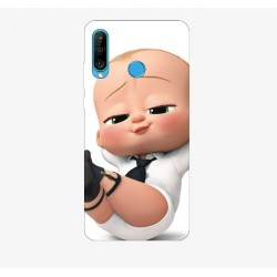 Husa Silicon Soft, Baby Boss, Upzz Print, Huawei P30 Lite