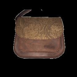 Geanta din piele naturala N05 Vintage Brown FR