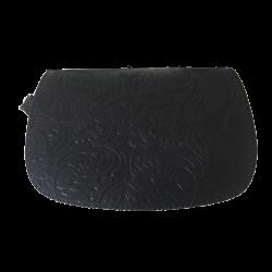 Geanta din piele naturala N03B Black PRI