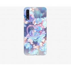 Husa Silicon Soft BS Print, Heart, Samsung Galaxy A50