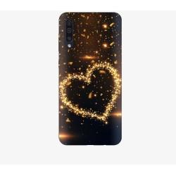 Husa Silicon Soft BS Print, Heart1, Samsung Galaxy A50