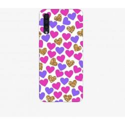 Husa Silicon Soft BS Print, Hearts2, Samsung Galaxy A50