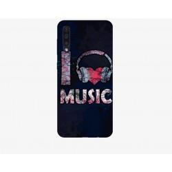 Husa Silicon Soft BS Print, Music, Samsung Galaxy A50
