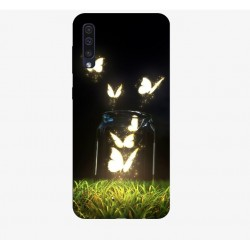 Husa Silicon Soft BS Print, Lighting Butterfly, Samsung Galaxy A50
