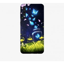 Husa Silicon Soft BS Print, Lighting Butterfly1, Samsung Galaxy A50