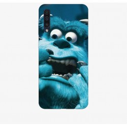 Husa Silicon Soft BS Print, Monsters, Samsung Galaxy A50