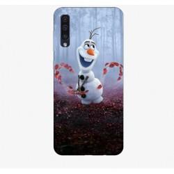 Husa Silicon Soft BS Print, Olaf, Samsung Galaxy A50