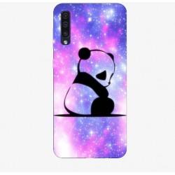 Husa Silicon Soft BS Print, Panda, Samsung Galaxy A50