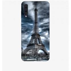 Husa Silicon Soft BS Print, Paris, Samsung Galaxy A50