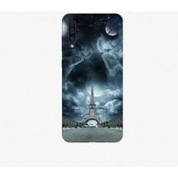 Husa Silicon Soft BS Print, Paris1, Samsung Galaxy A50
