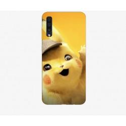 Husa Silicon Soft BS Print, Pikachu, Samsung Galaxy A50