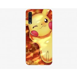 Husa Silicon Soft BS Print, Pikachu1, Samsung Galaxy A50